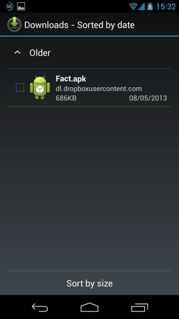 how to download and install apk files on android